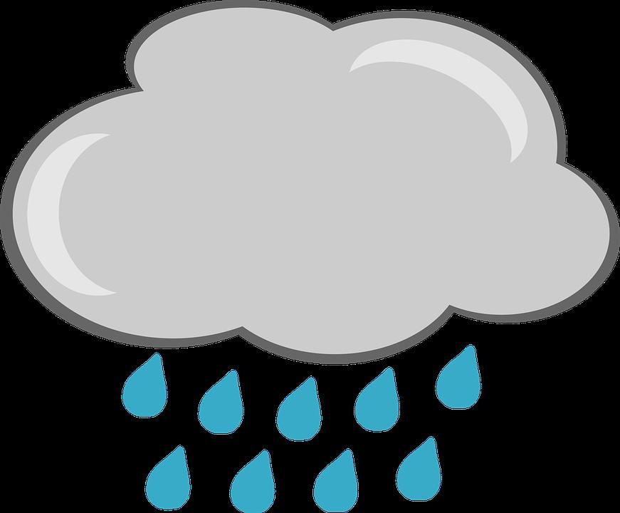 Raincloud png hd transparent. Raindrop clipart thunderstorm