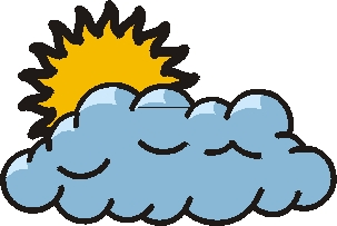 Cloudy clipart cloudy day. Weather panda free images