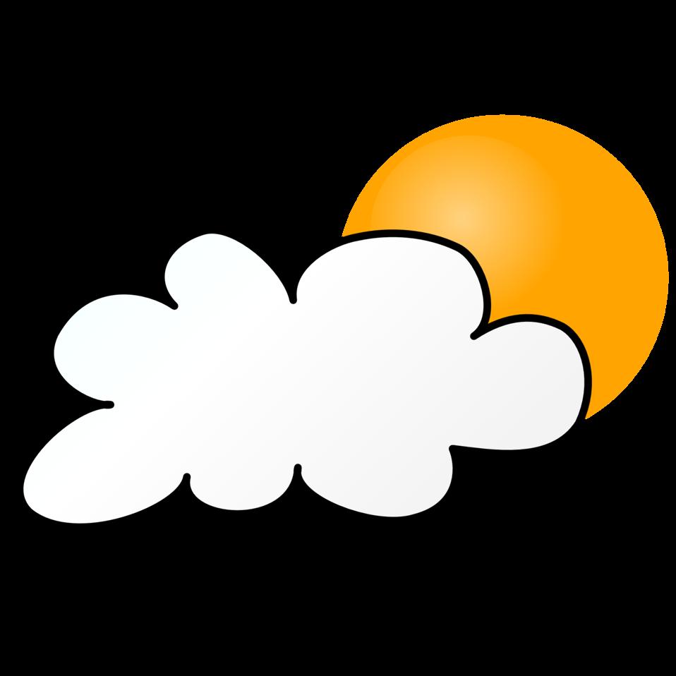Cloudy clipart cloudy day. Public domain clip art