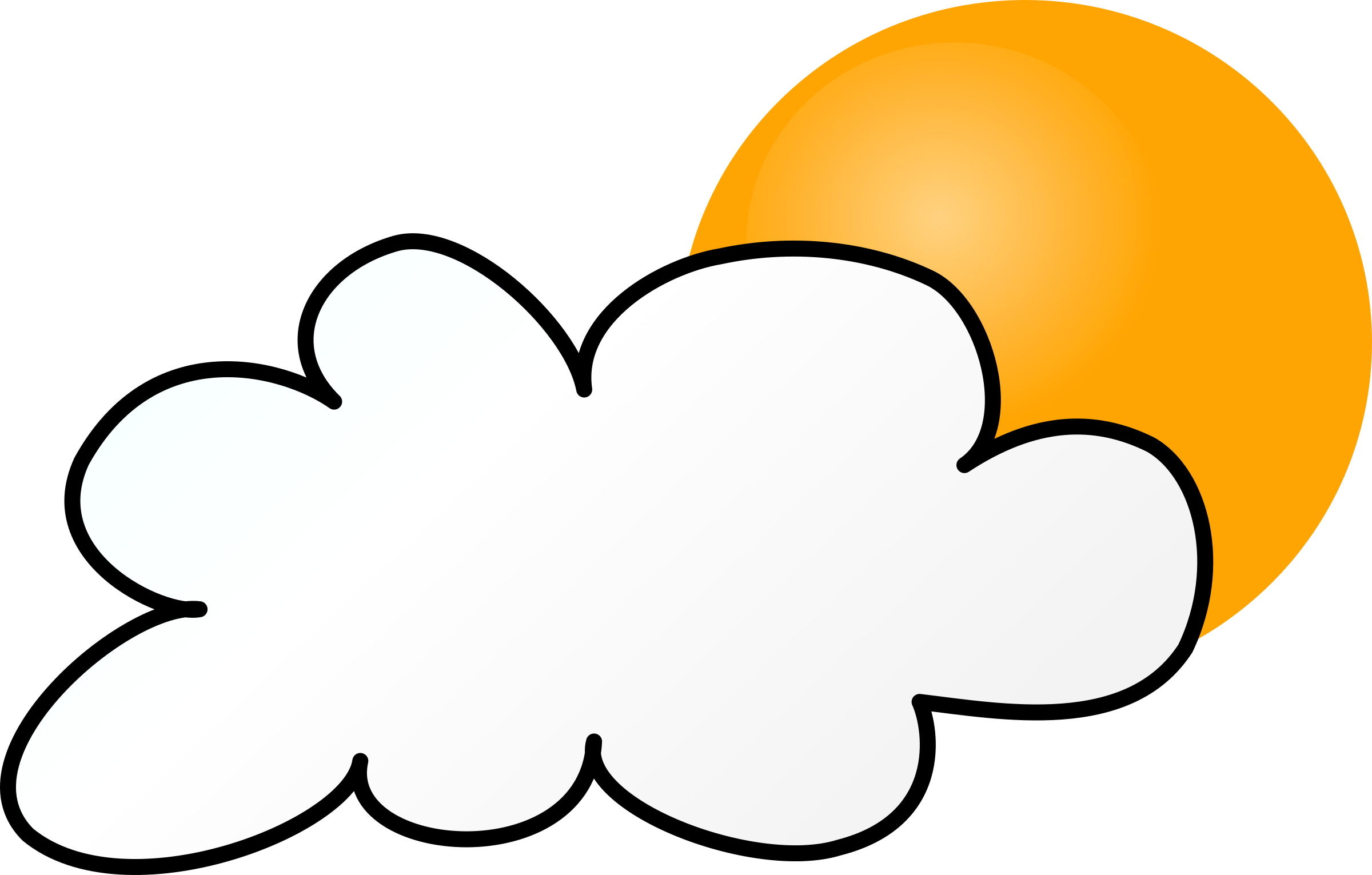 Weather symbols simple big. Cloudy clipart cloudy day