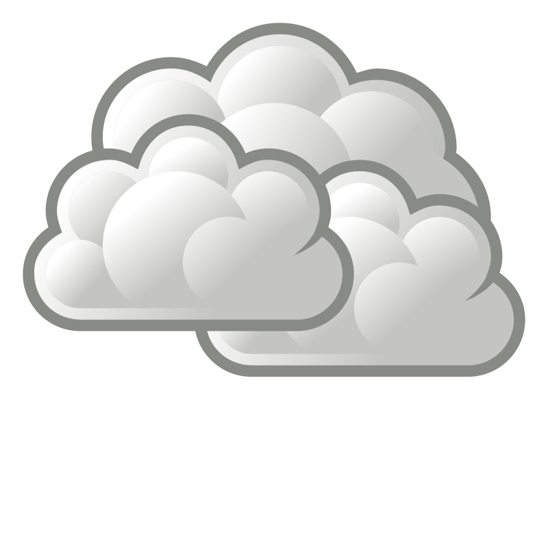 Tango weather overcast medium. Cloudy clipart cluds