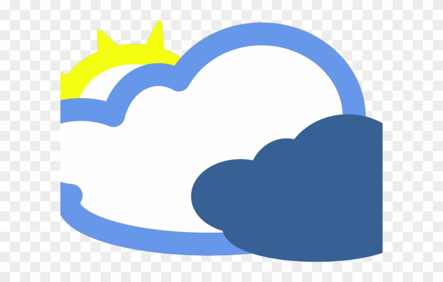 Fog clipart cold cloud. Symbol weather cartoon clouds
