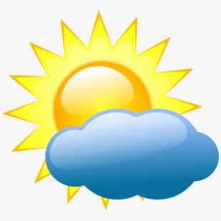 Cloudy clipart cold cloud. Partly weather clip art