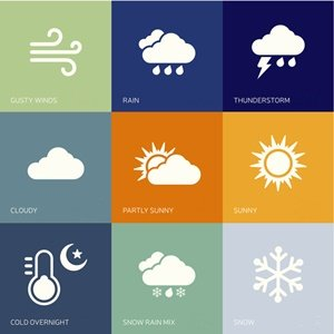 Weather update a sunday. Cloudy clipart cool climate