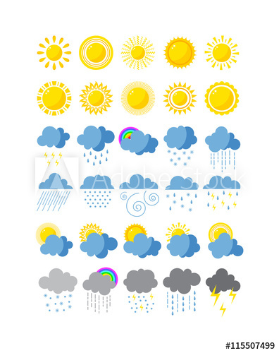 Cloudy clipart cool climate. Mega pack of weather
