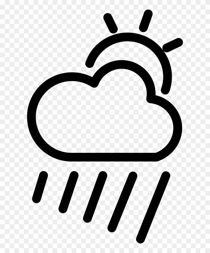 Cloudy clipart gloomy day. Rainy icon bew lkt