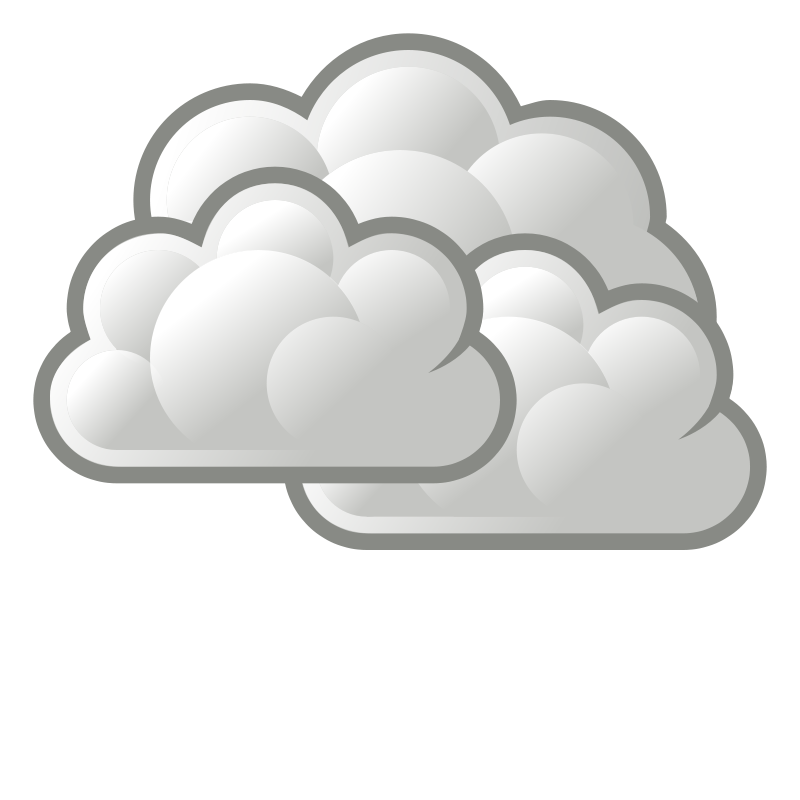 collection of weather. Cloudy clipart gloomy day