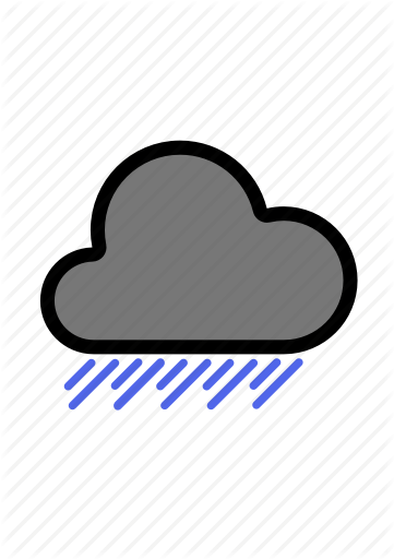 flat main weather. Cloudy clipart heavy cloud