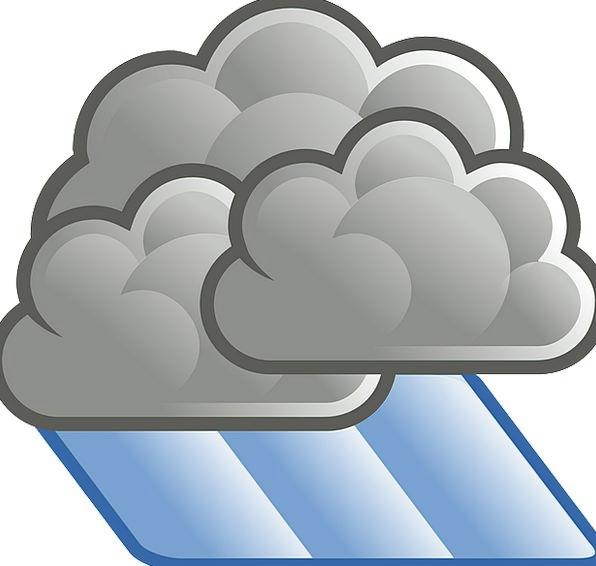 Cloudy clipart heavy cloud. Rain precipitation volley foggy