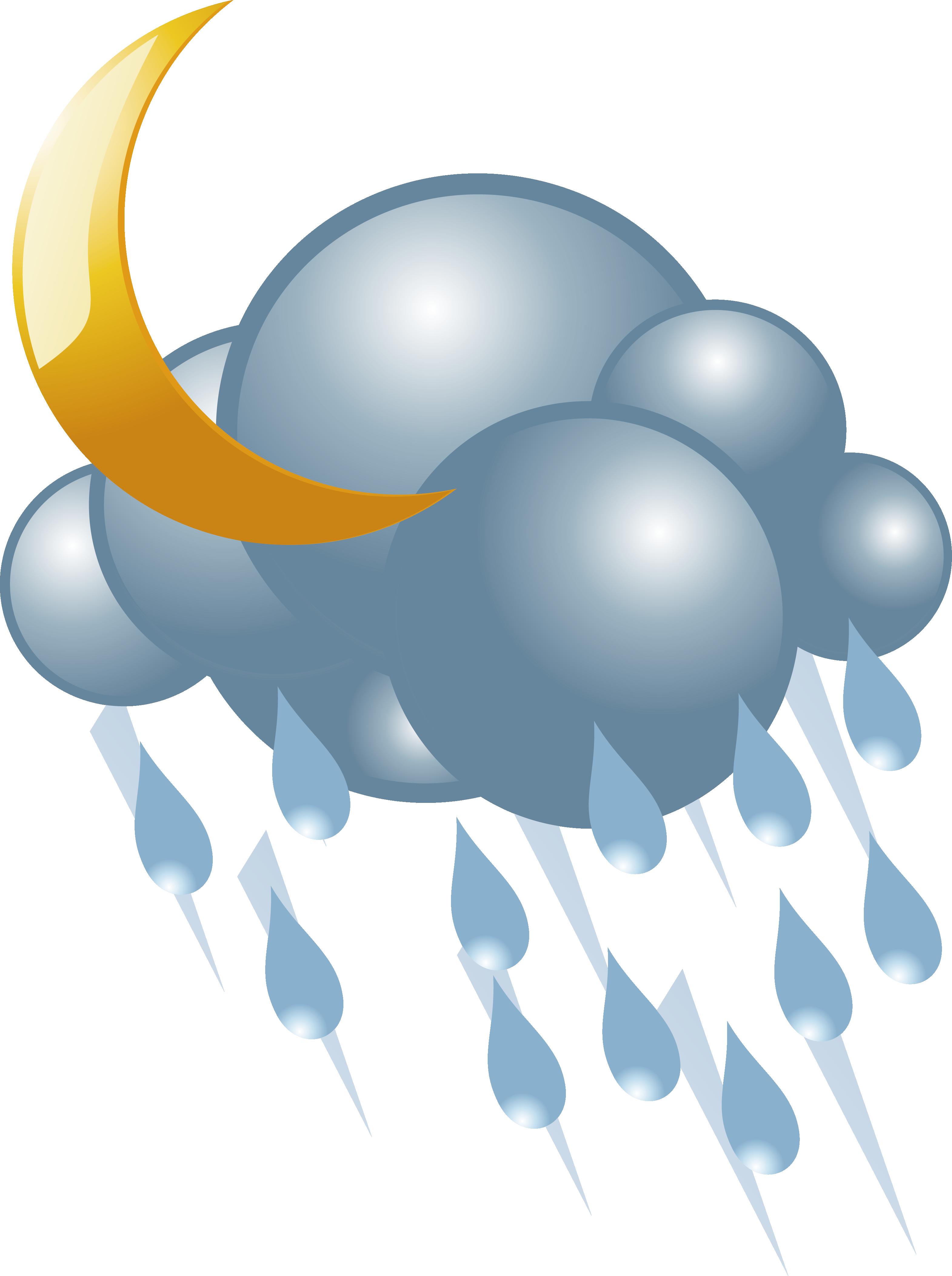Cloudy clipart lightning cloud. Rain vector icon transprent