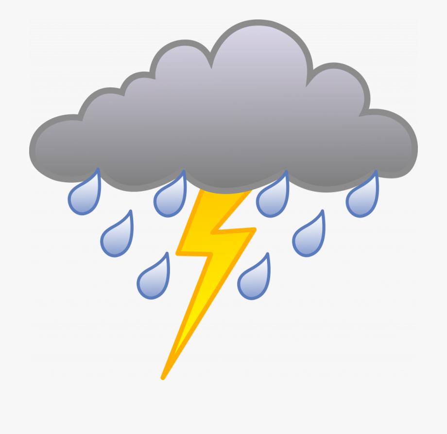 Unique storm rain with. Cloudy clipart lightning cloud