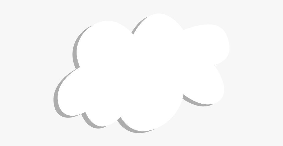 Cloud sticker free cliparts. Outside clipart cloudy sky