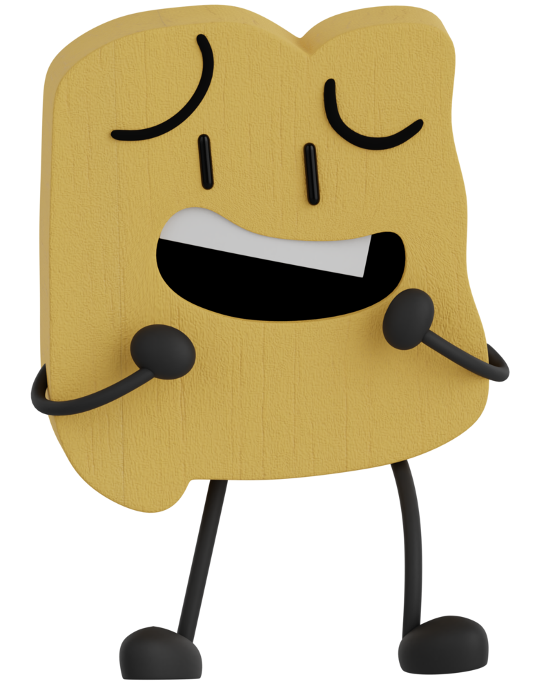 Cloudy clipart mainly. Bfb woody by cutietree