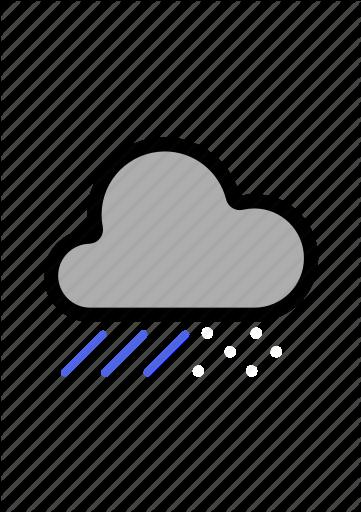 Cloudy clipart man in rain.  flat main weather