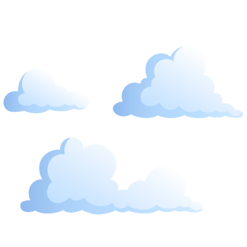 Images png format clip. Cloudy clipart many cloud