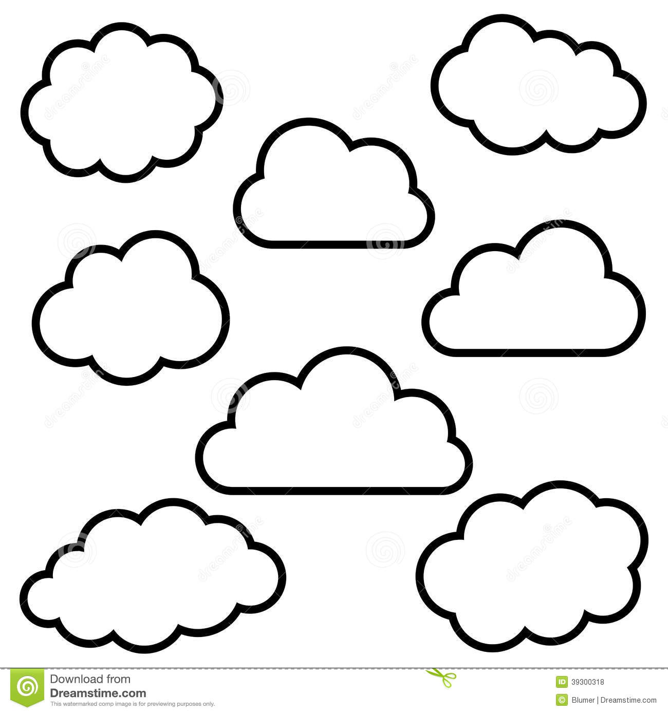 Cloudy clipart many cloud. Sky x free clip