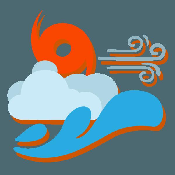 Hurricane clipart weather radar. Myrtle beach up to