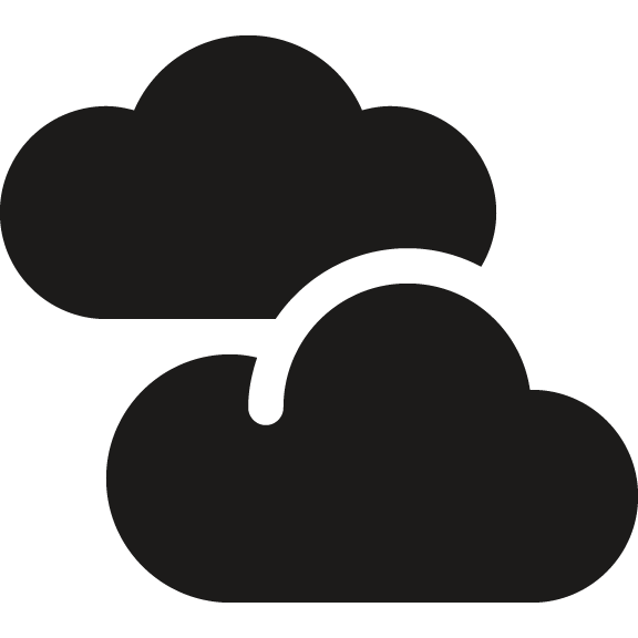 Cloudy clipart mostly. Index of img symbolicons