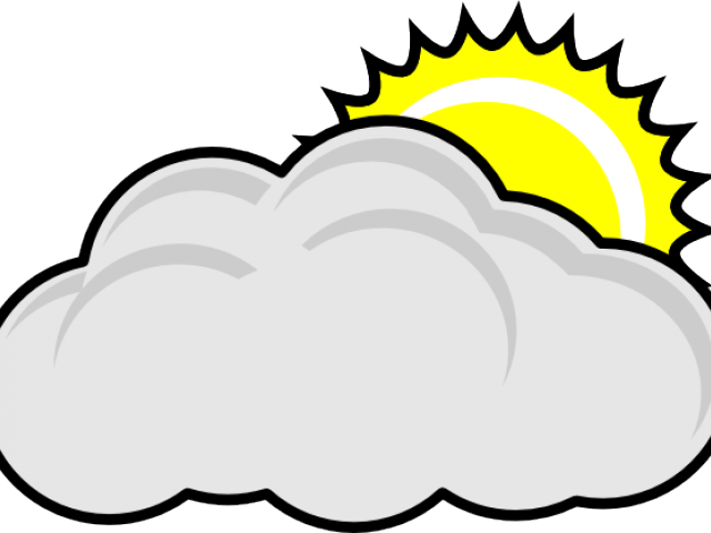 Cloudy pictures free download. Sunny clipart partly