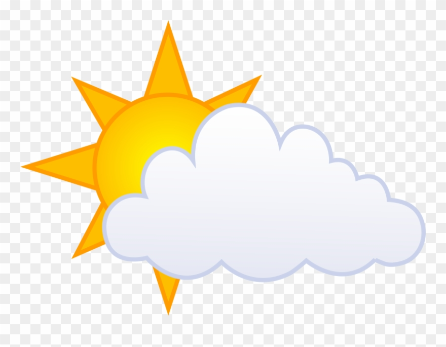 Of and comments clip. Cloudy clipart partly cloudy