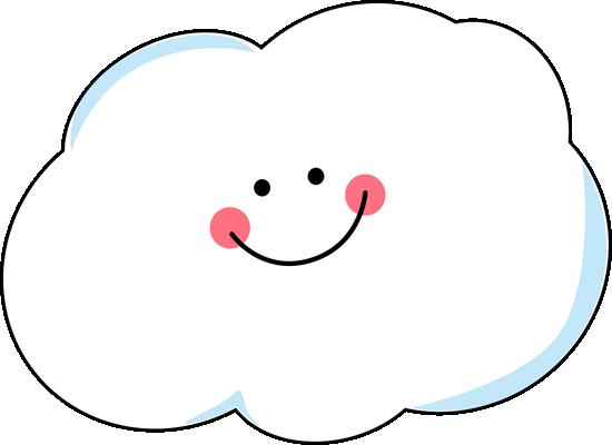 Cloud clip art image. Windy clipart happy