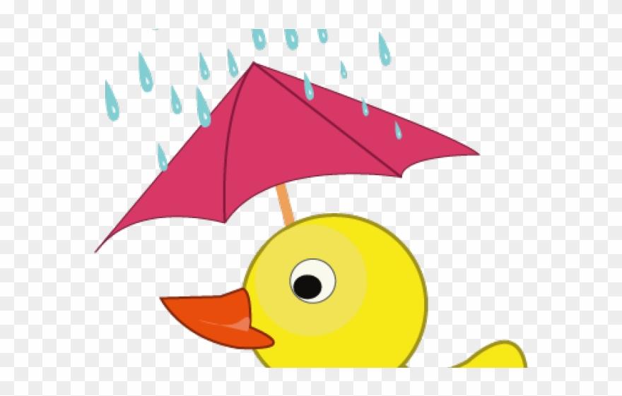 Rainy day png download. Ducks clipart rain clip art