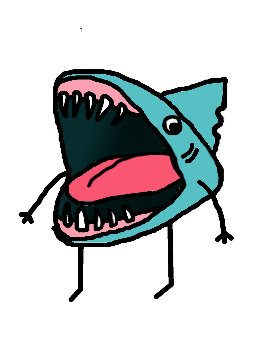 Cloudy clipart scary. Shark graphic t shirt