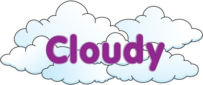 Partly clip art hostted. Cloudy clipart season
