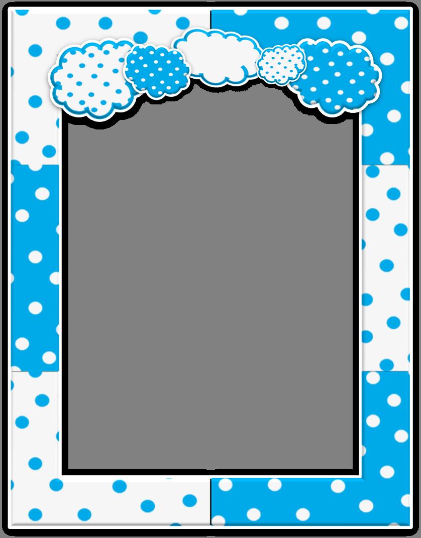 Free printable kit marcos. Cloudy clipart season