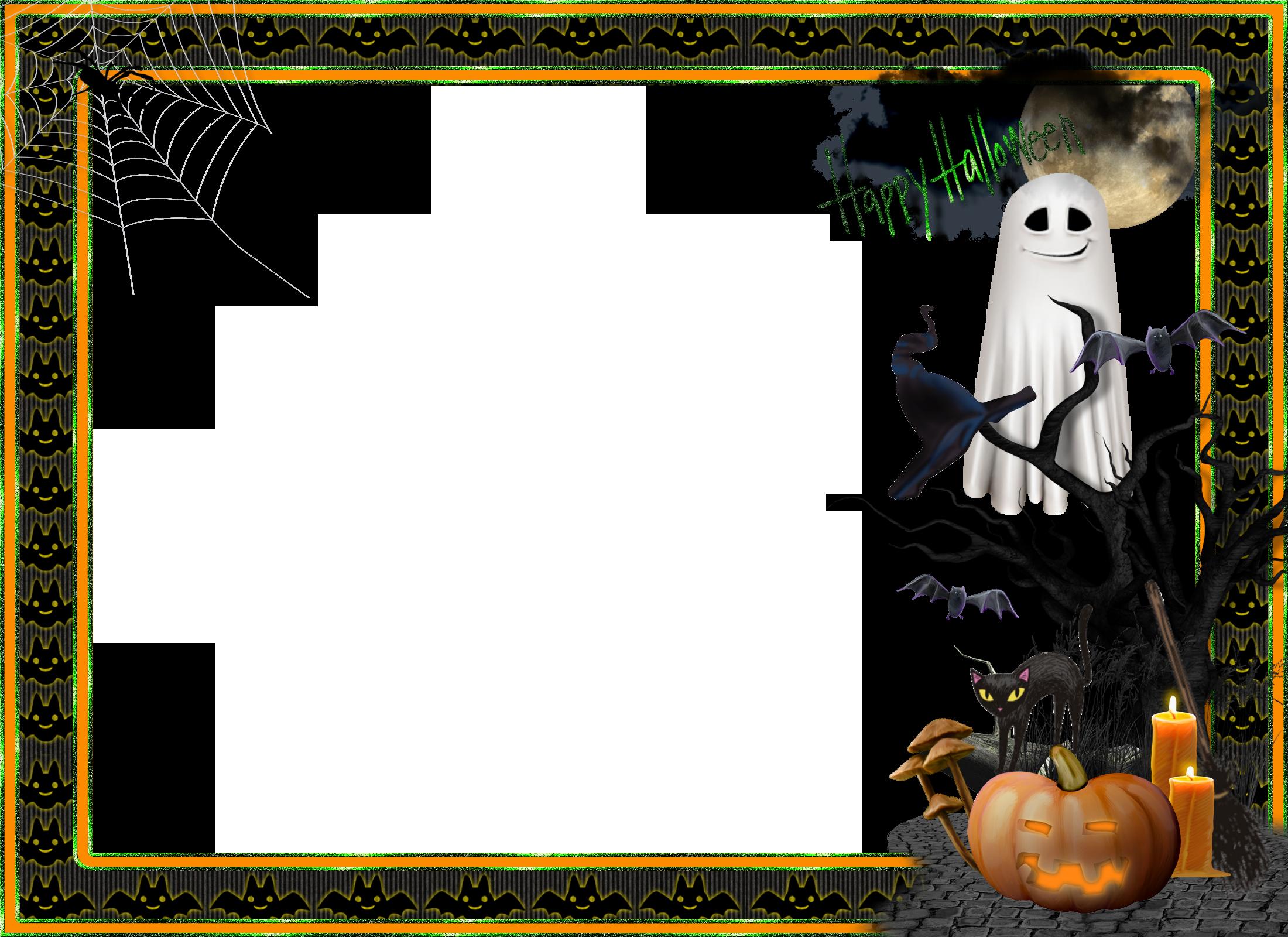 Elmo clipart frame. Halloween transparent large photo