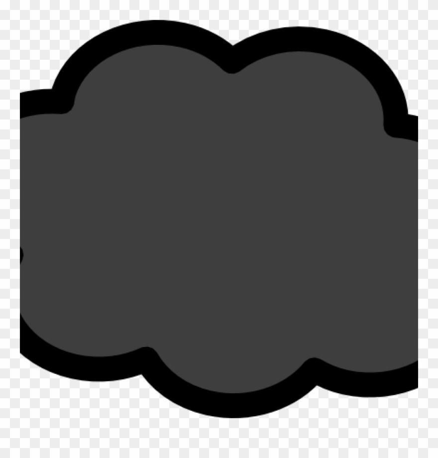 Dark clip art at. Cloudy clipart storm cloud