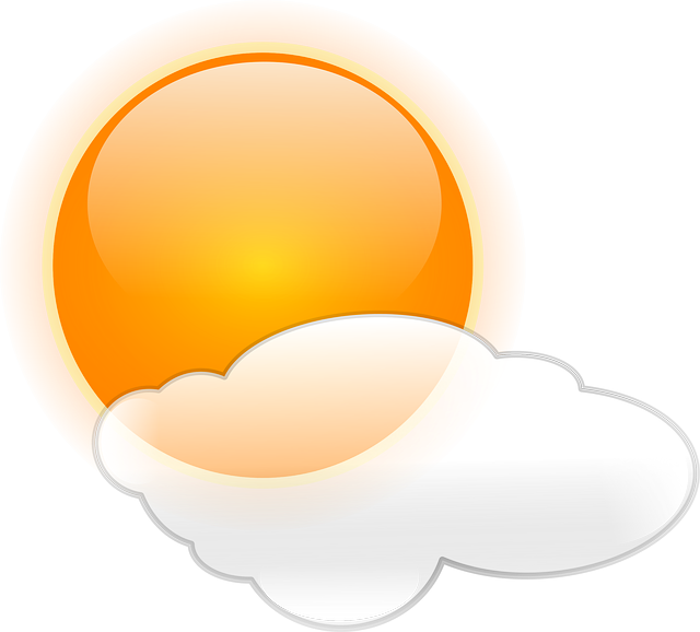 Sunny clipart cloudy. Times with sam the