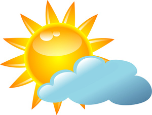 Free cloudy cliparts download. Sunny clipart rainy