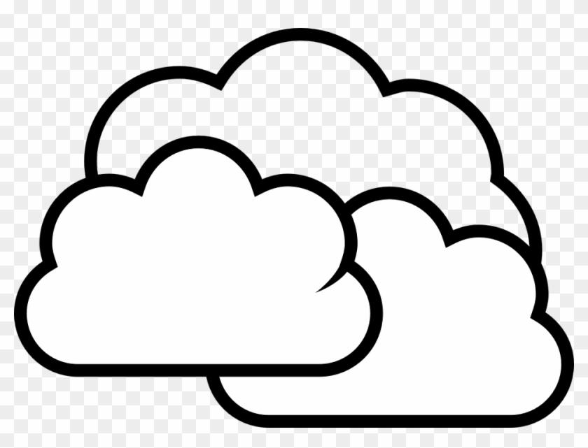 Cloudy clipart transparent background cloud. Drawn black