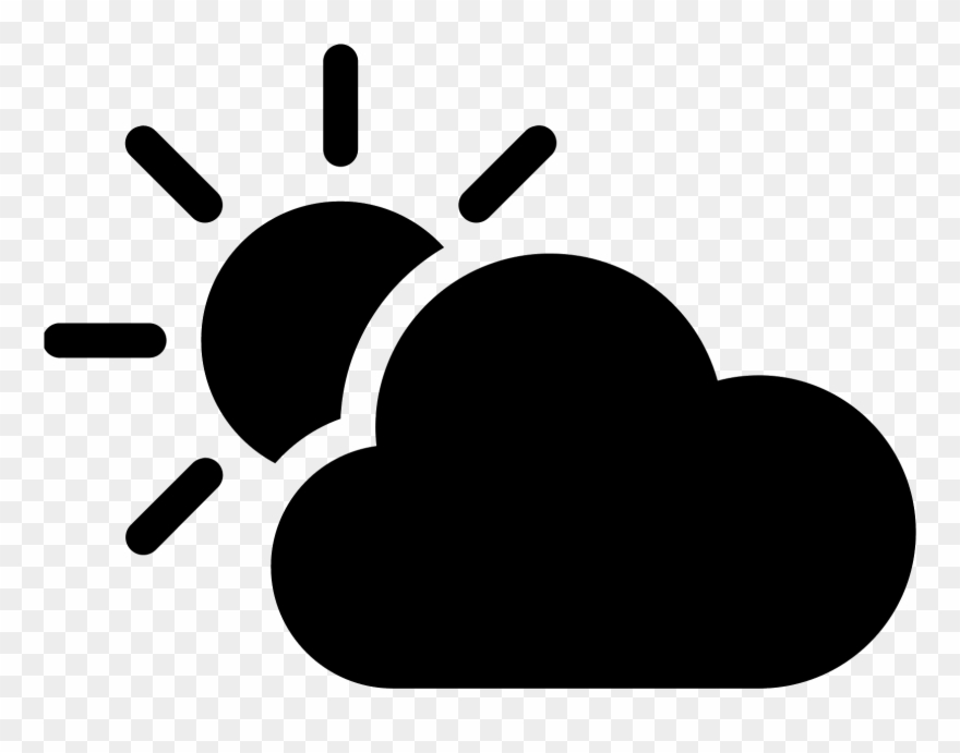 Cloudy clipart two cloud. Sunny weather for kids