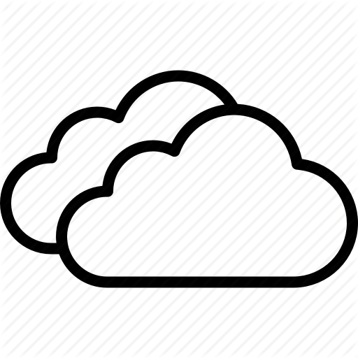 weather forecast meteorology. Cloudy clipart two cloud