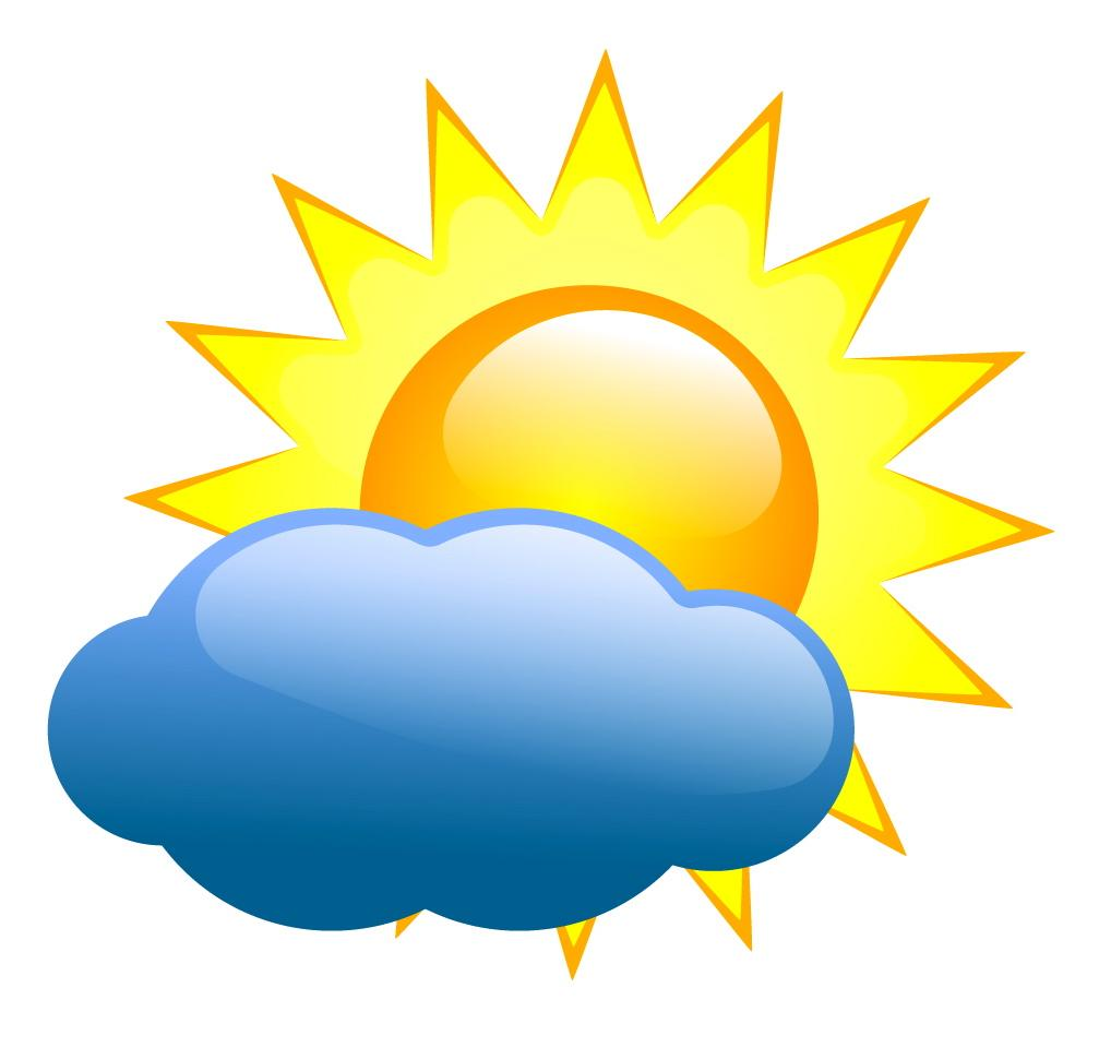Sunny clipart weather nice. Warm free download best