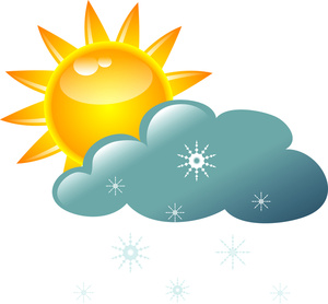 Cloudy clipart warm weather. Free images clipartix