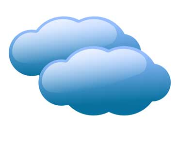Cloudy panda free images. Sunny clipart kind weather