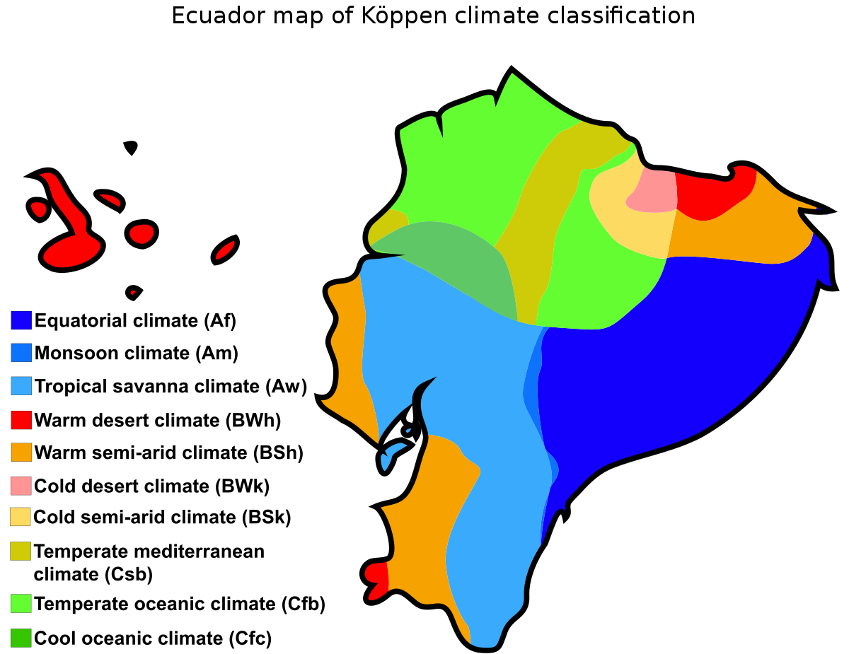 Climate of ecuador wikipedia. Windy clipart weather chart