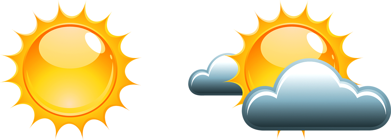 Forecasting clip art sunny. Cloudy clipart weather forecast