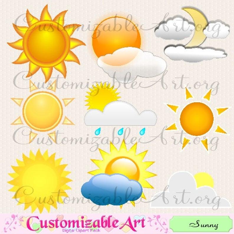 Digital sun nice decorative. Sunny clipart weather philippine