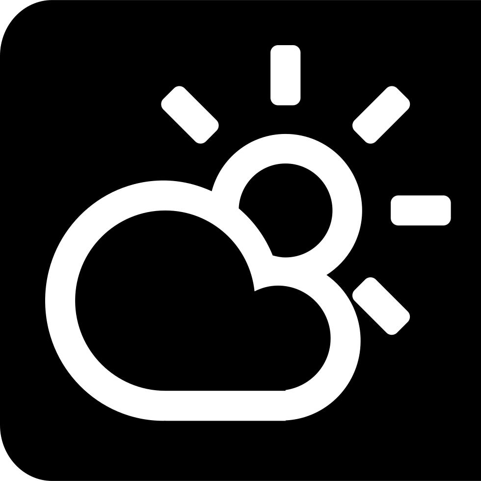 Cloudy clipart weather word. Home phone svg png