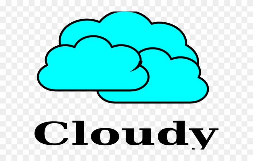 Sunny png download pinclipart. Cloudy clipart weather word