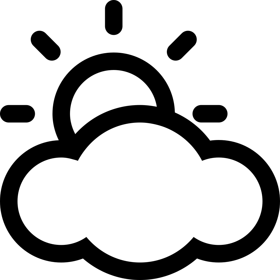 Cloudy clipart white thing. Weather svg png icon