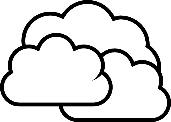Weather panda free images. Cloudy clipart