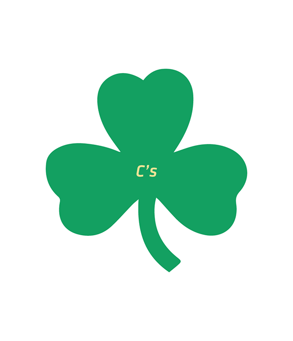 Clover clipart 3leaf. Boston celtics supplementary logo