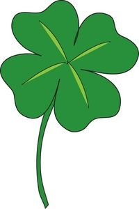 Clover clipart.  leaf clipartfest nature