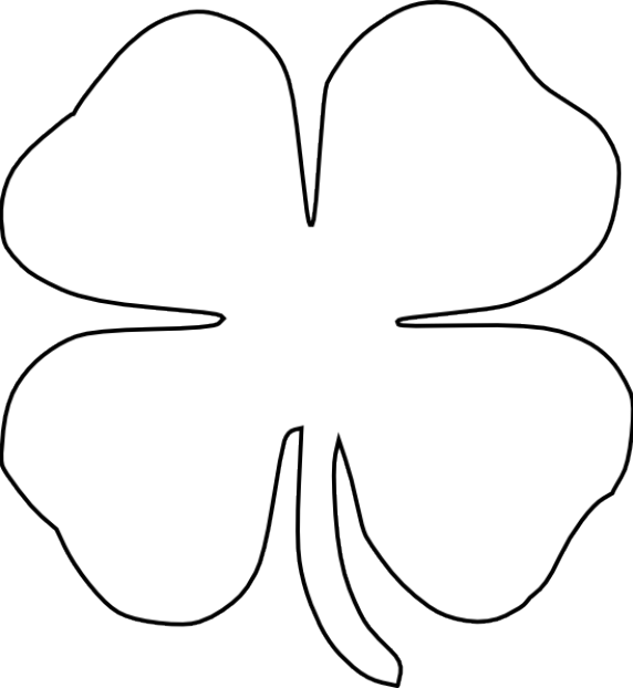 Coloring clipart st patricks day. Free printables pages clover