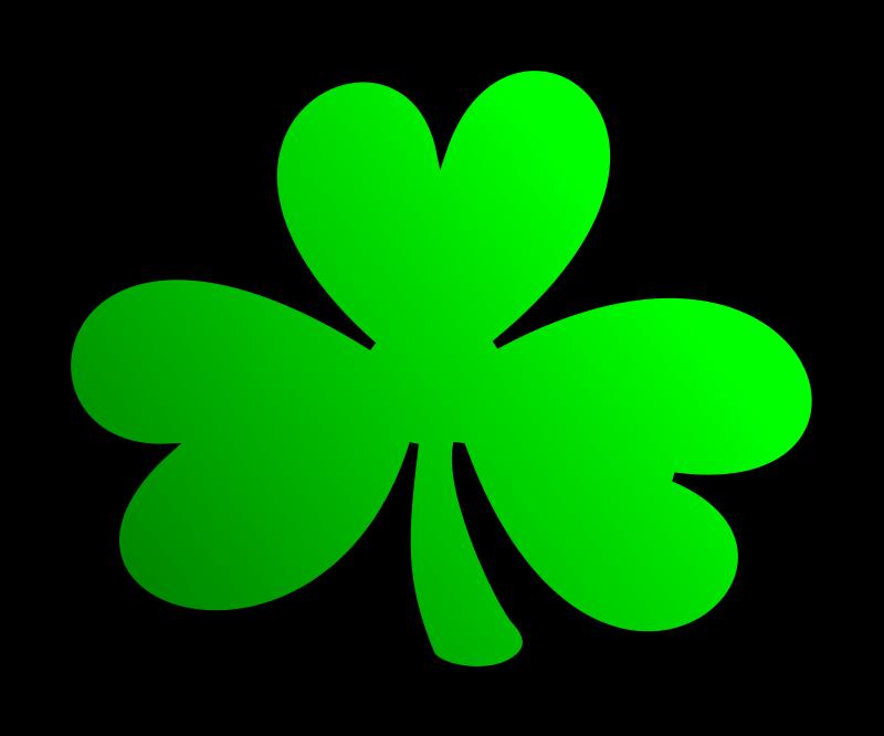 Free celtic shamrock cliparts. January clipart school